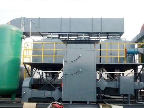 沸石转轮浓缩+RTO废气燃烧设备