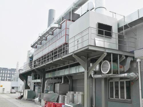 有机废气催化燃烧器