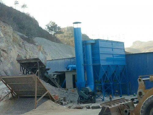 济南市石料厂除尘器